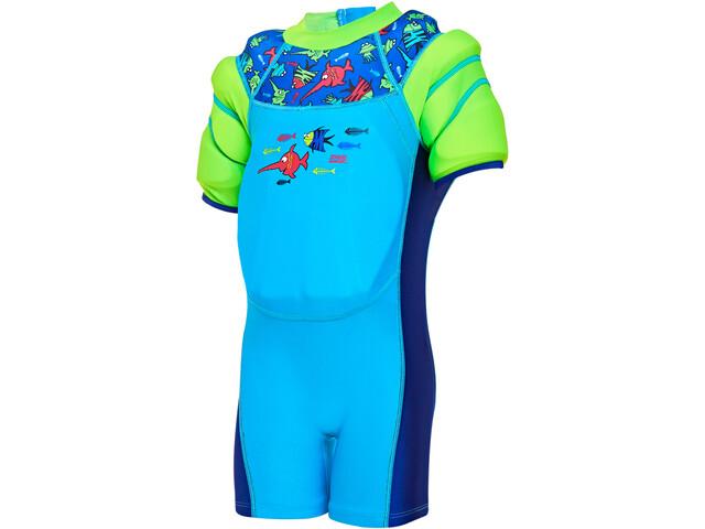 Zoggs Sea Saw Water Wings Floatsuit Boys blue